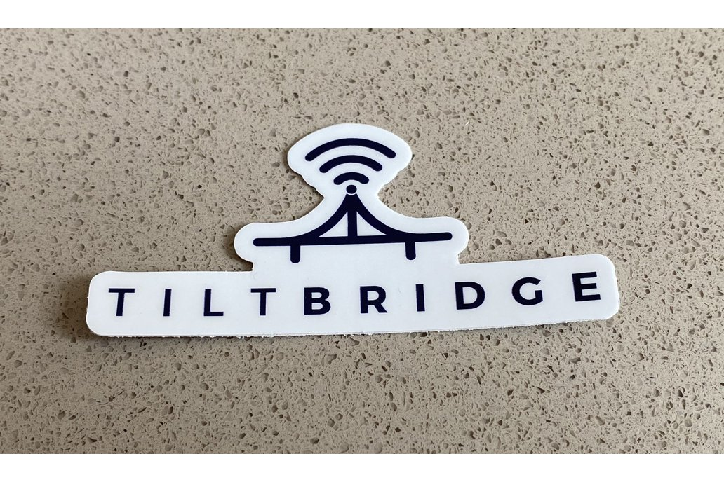 TiltBridge Sticker 1
