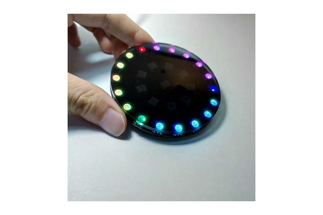 DIY Wearable RGB LED Crystal Energy Ring Kit 5
