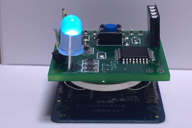 IoT Button and LED [Dot] - Bluetooth 4.0