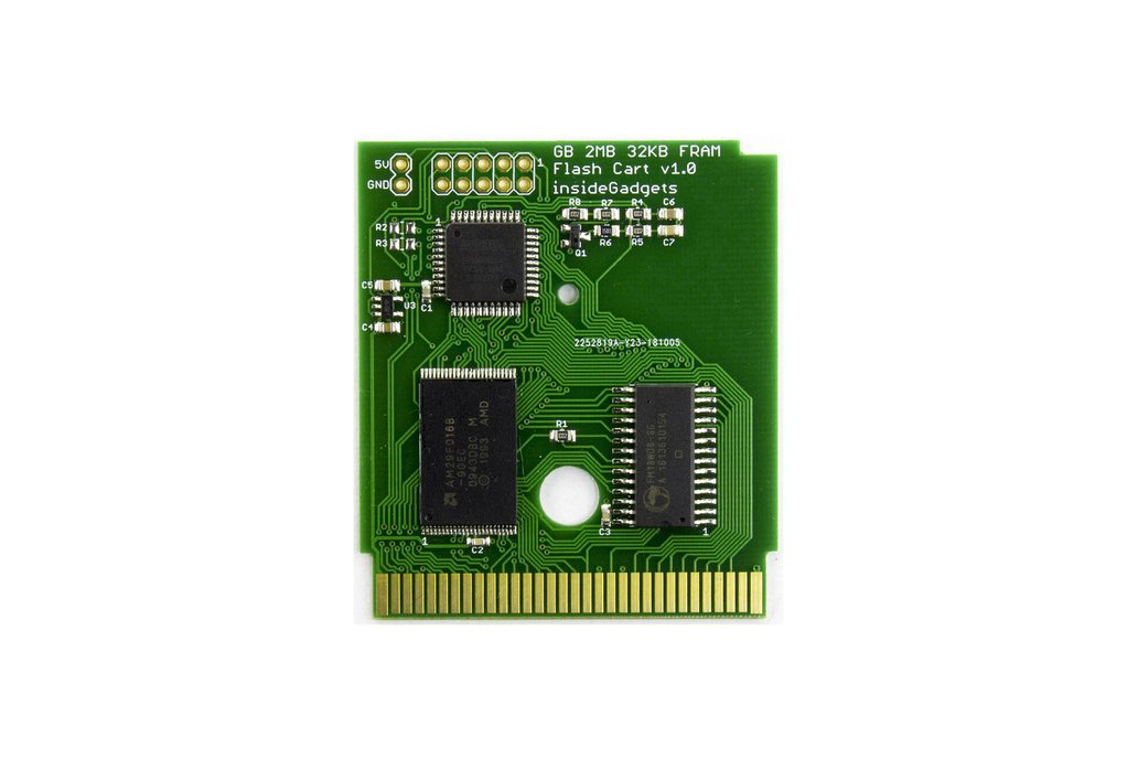 Gameboy 2MB ROM, 32KB FRAM Flash Cart 1