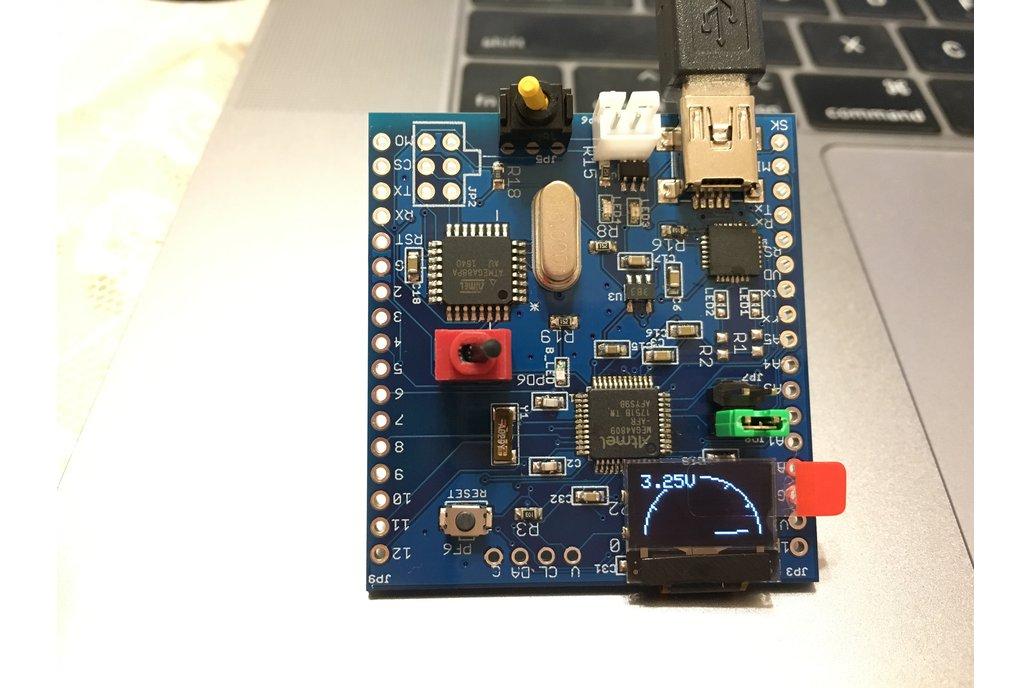 ATmega4809 challenger board 1