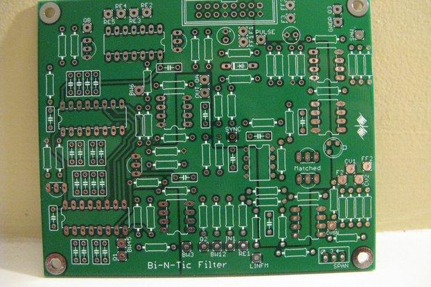 Electronotes Bi-N-Tic filter Eurorack PCB