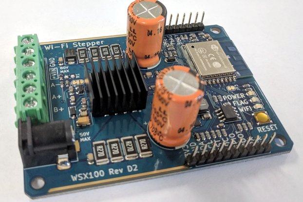 Wi-Fi Stepper (WSX100)