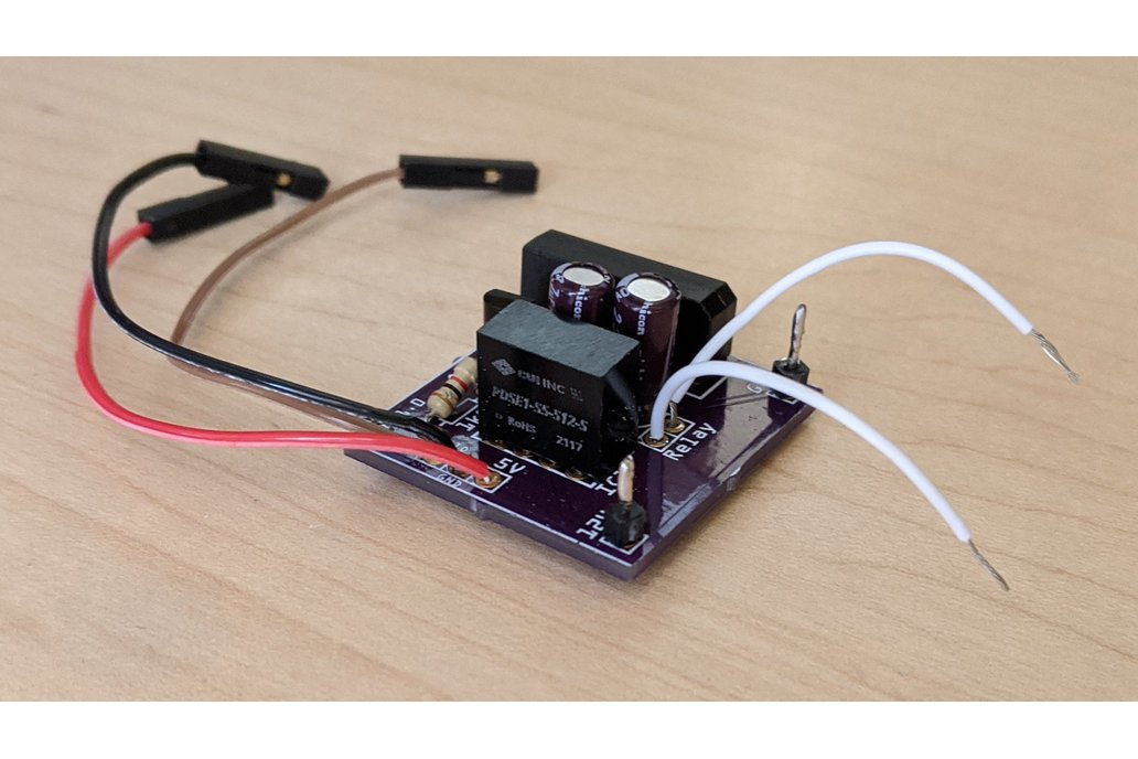Remote Gate Opener Adapter for Raspberry Pi 1