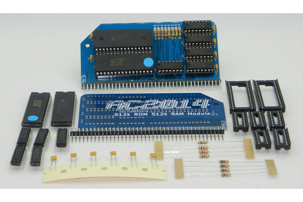 512k ROM 512k RAM RomWBW Module for RC2014 3