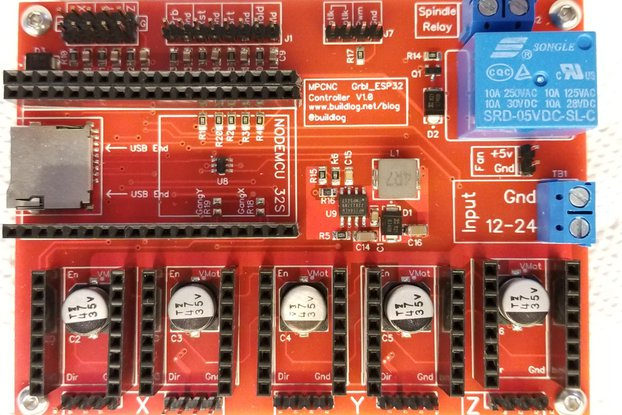 Grbl_ESP32 MPCNC CNC Controller Ver 1.2