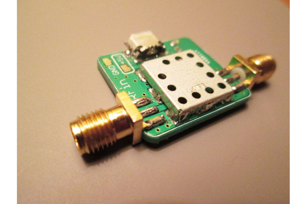 Low Noise Amplifier 100 kHz to 2000 MHz RF LNA 1