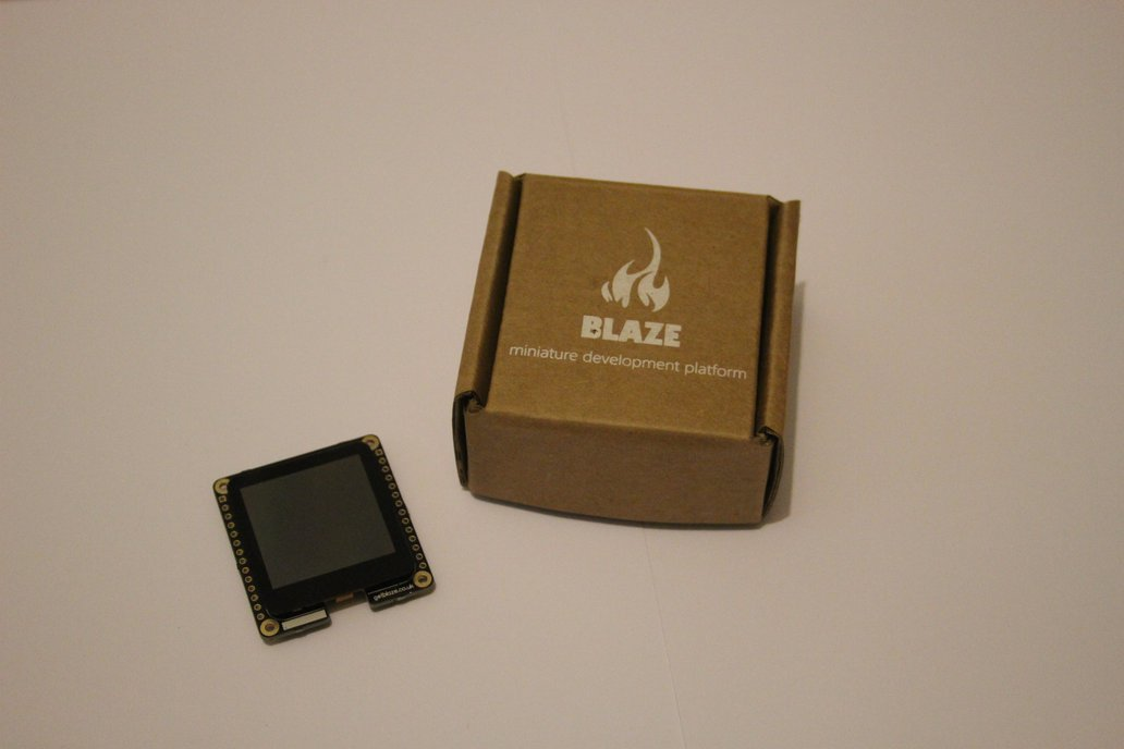 Blaze: Wearable Dev Board With Touch Display 2