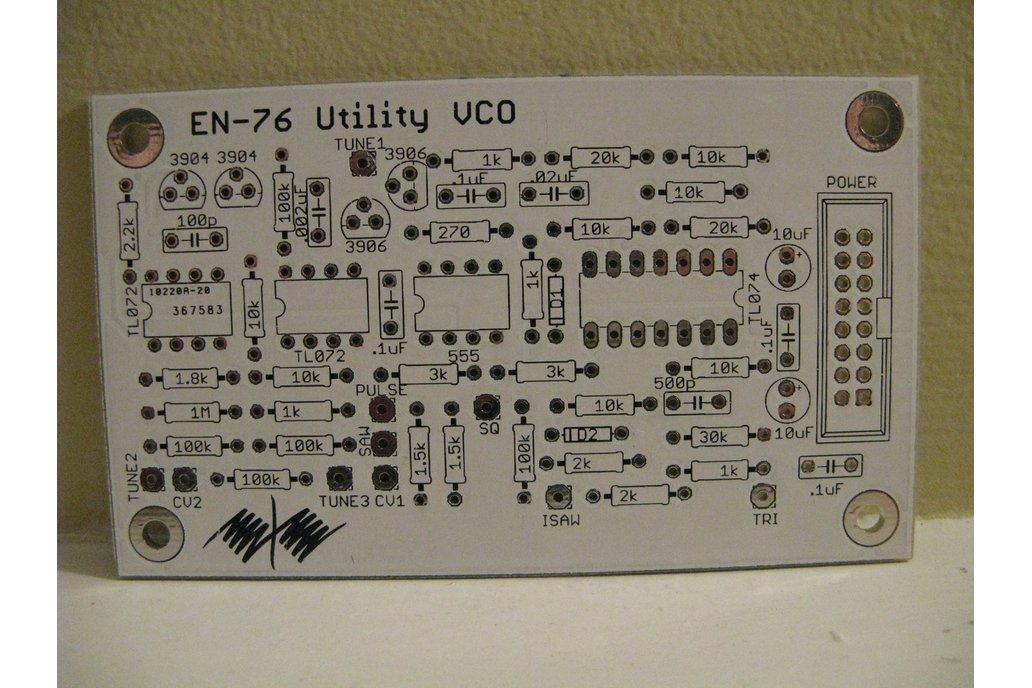 EN76 Utility VCO PCB 1
