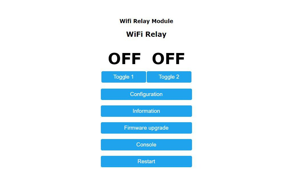 Wi-Fi Controlled Dual Relay w/Ext Antenna Jack 3