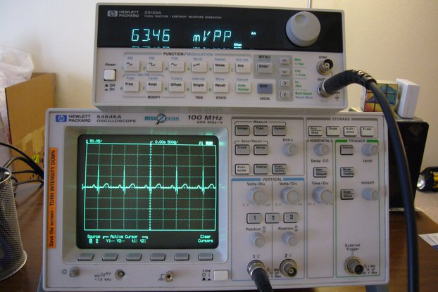 HP 54645A 100Mhz Digital Oscilloscope /w Probes