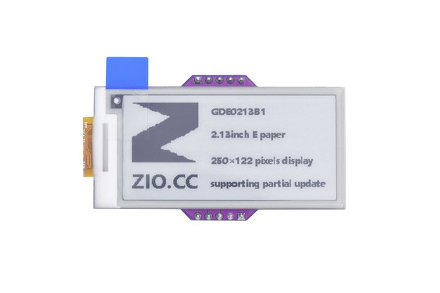 Zio E-Ink Display (2.1in, 2 Grey)