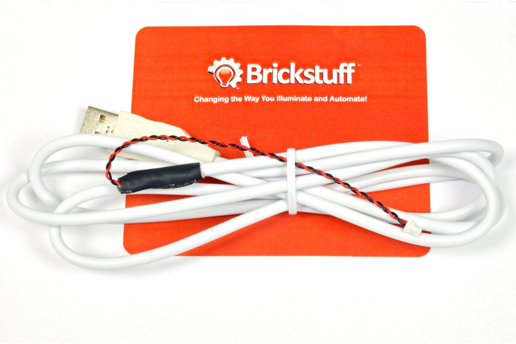 USB Power Cable for the Brickstuff LEGO® System 1