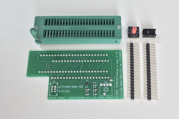 TL866 Adapter for 27C322 & 27C400 /800 /160 EPROMs