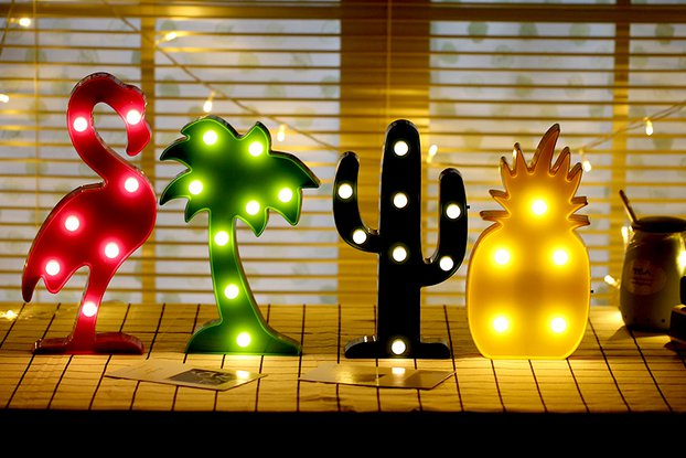 3D Night Lamp Christmas Decoration