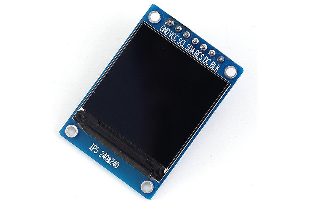 1.3 inch SPI 240x240 RGB TFT LCD 3.3V (14588) 1