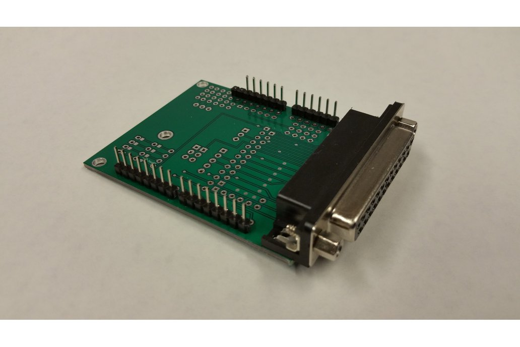 Arduino Grbl To Db25 Cnc Shield Kit From Ron On Tindie