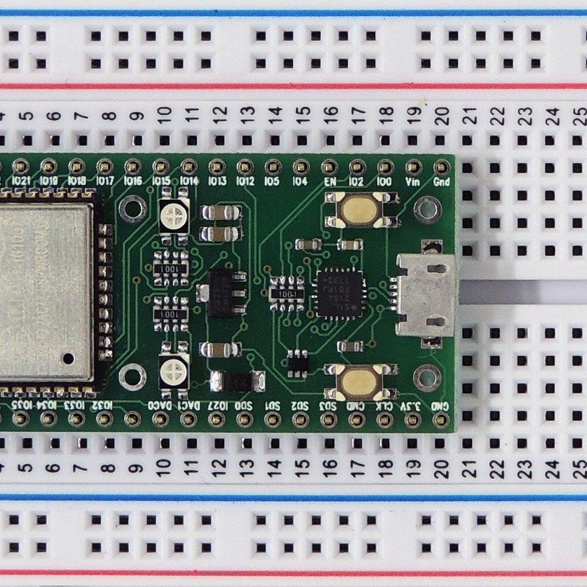 ESP32 Dev Board WiFi+Bluetooth from EzSBC on Tindie