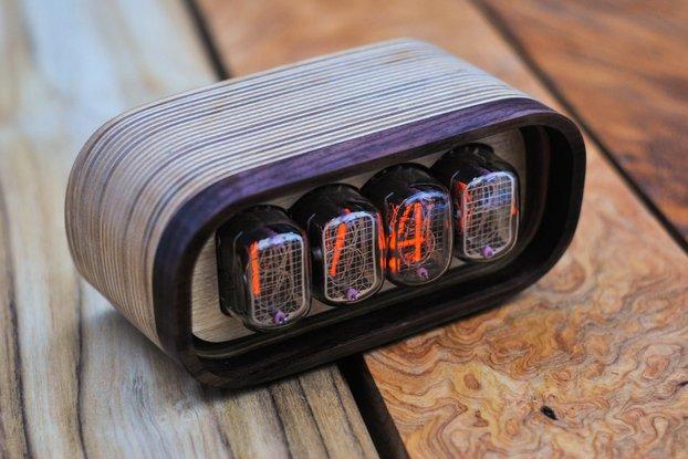 Nixie clock IN12
