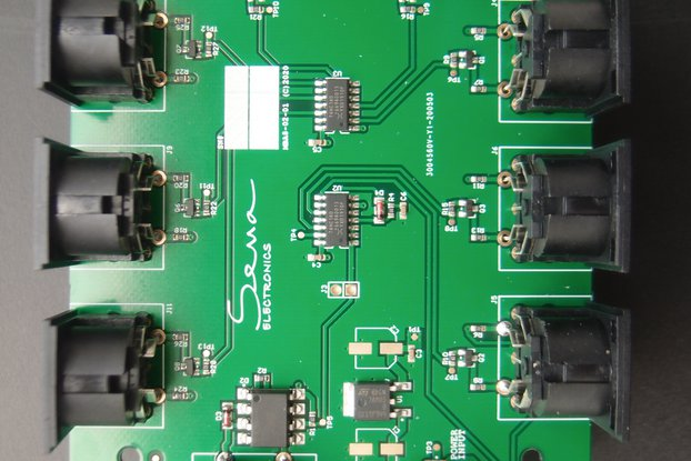 6 Way MIDI Thru/Splitter, 1 In 6 Thru, Home Studio