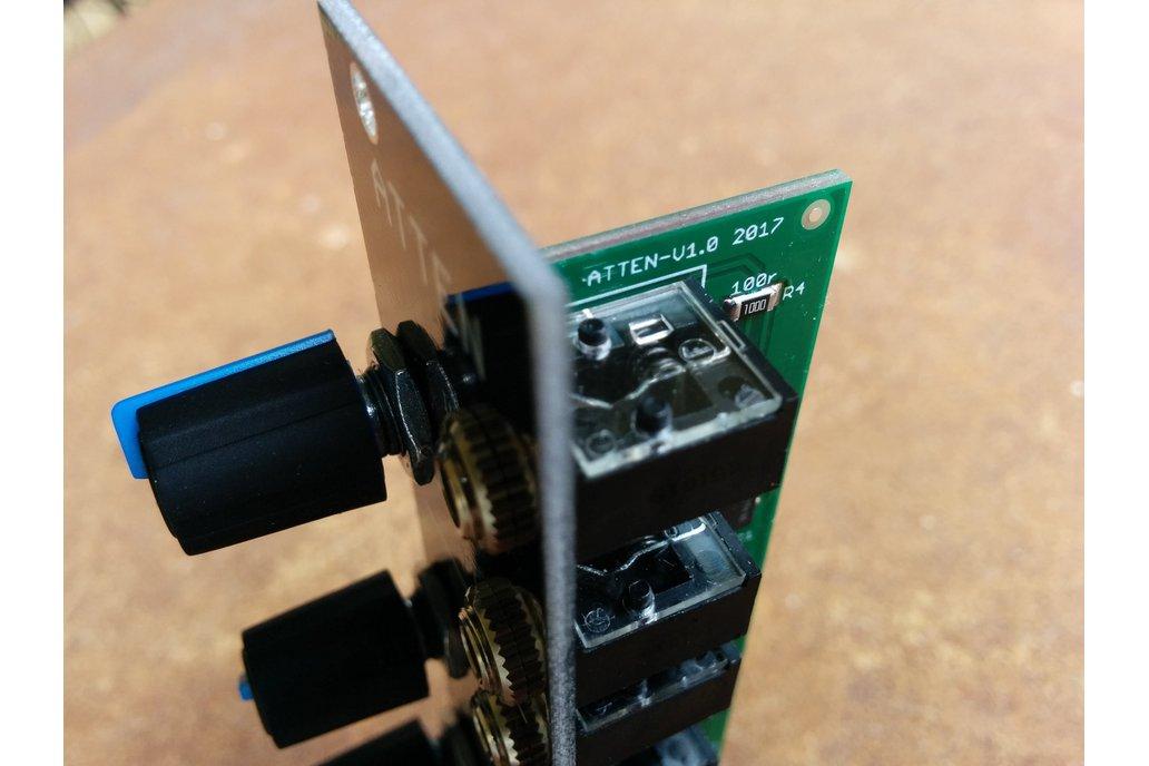 Buffered Attenuator (Eurorack PCB Set) 2
