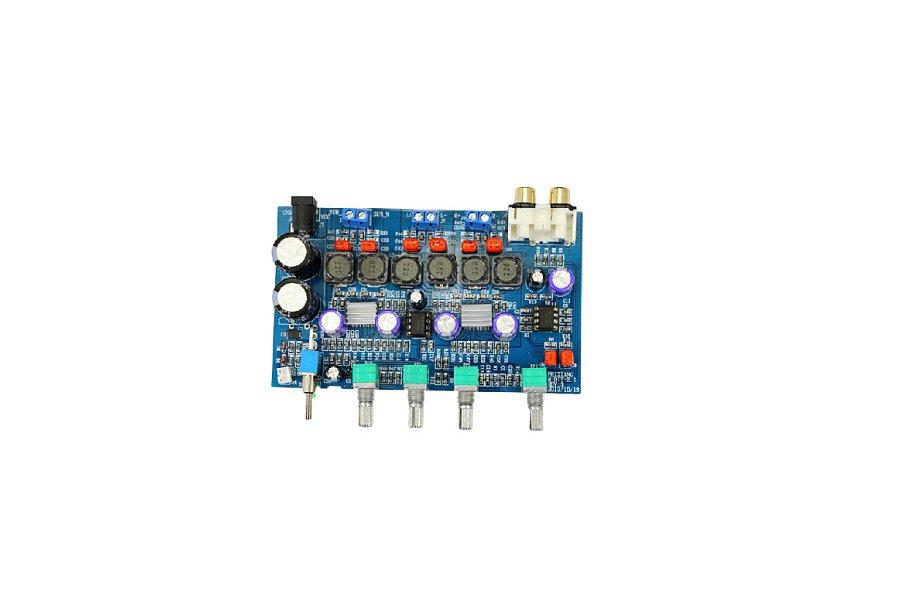 Hi-Fi   Amplifier Board 100W subwoofer + 50W+50W