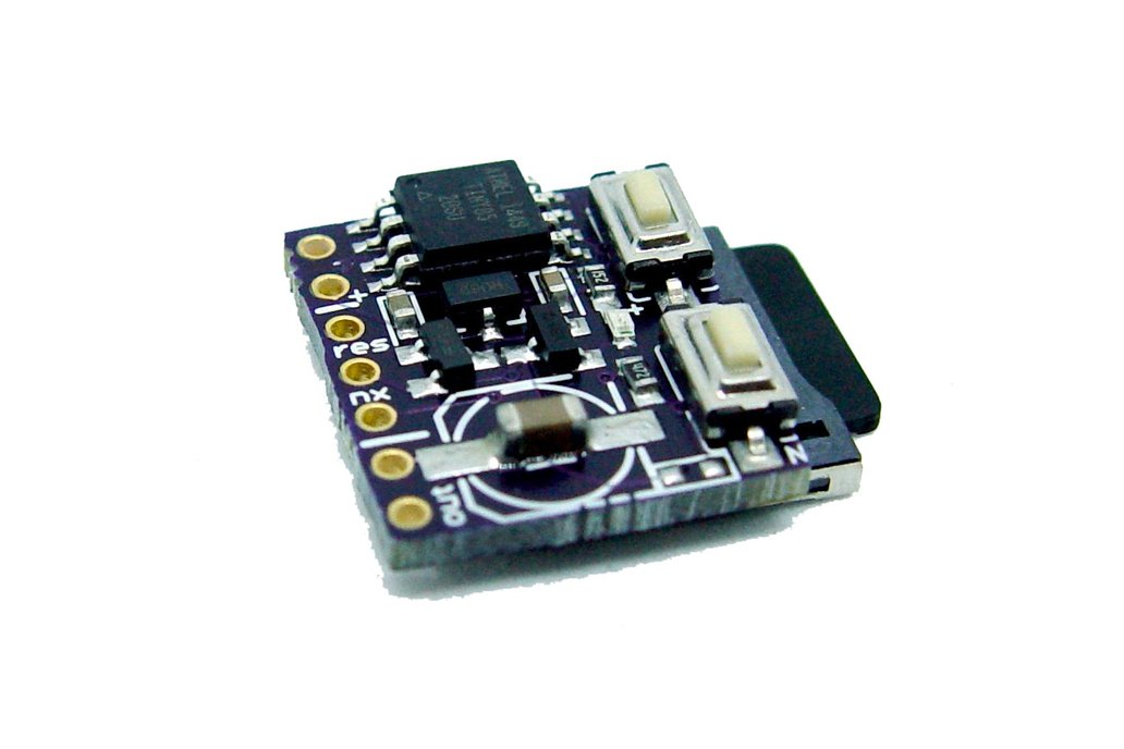 Micro SD Card .WAV Player AVR AtTiny85 5