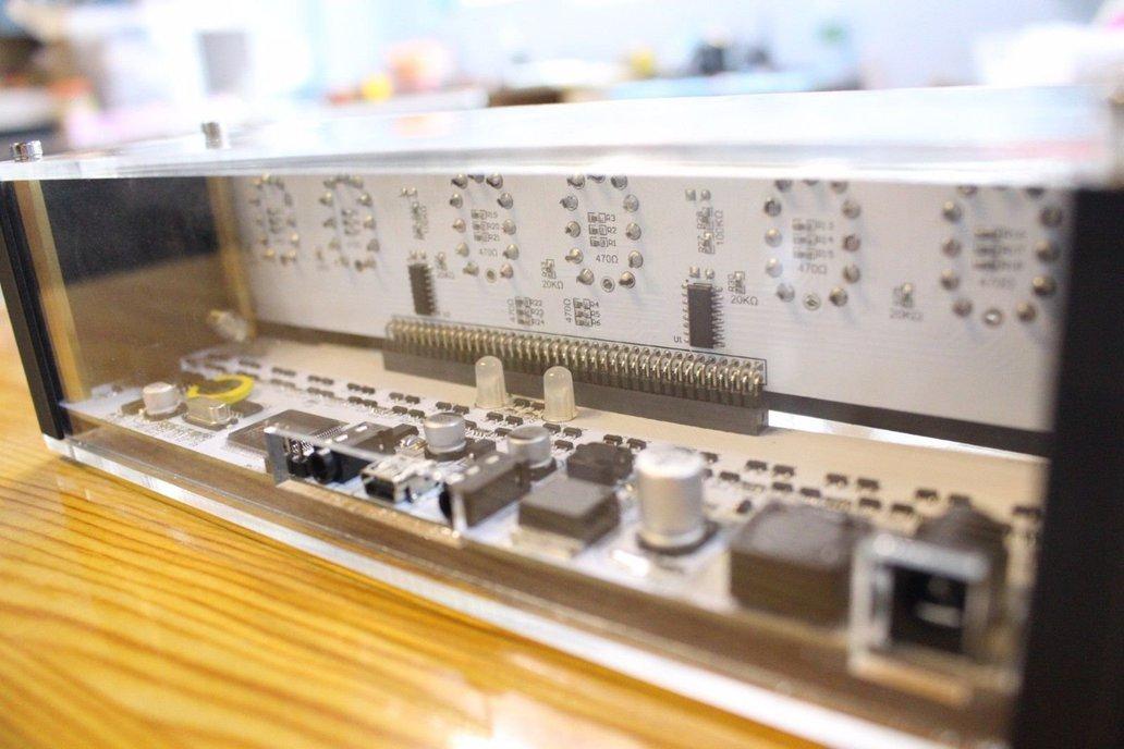 NIXT CLOCK - IN12 Nixie Tube Clock With Remote 8