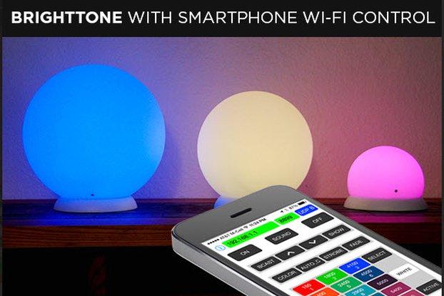 Smart Audio Processing RGB LED Lamp WiFi Control 6