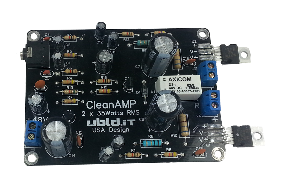 CleanAMP (Stereo) Kit
