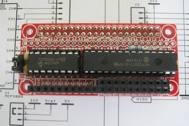 Raspberry Pi Zero - PIIO UserP0rt