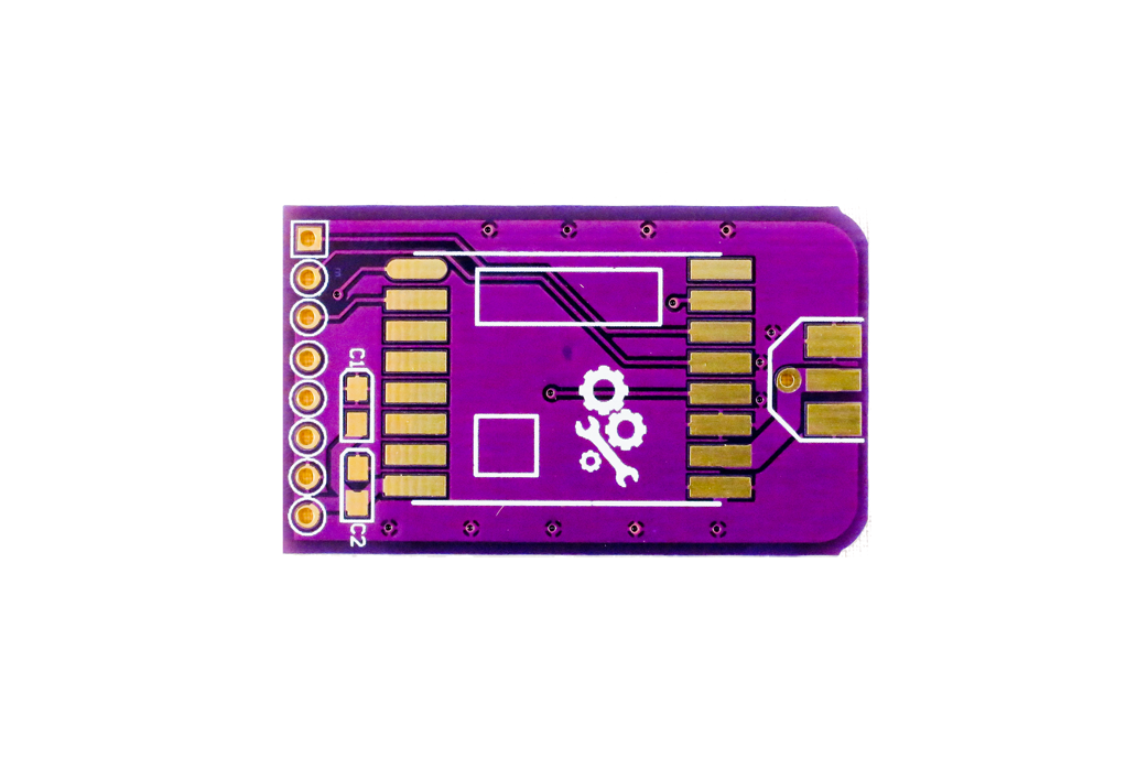 Slim RFM69HW Wirless Breakout Board PCB  1
