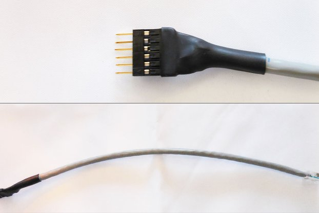 "10"" Male PIC Programming Cable"