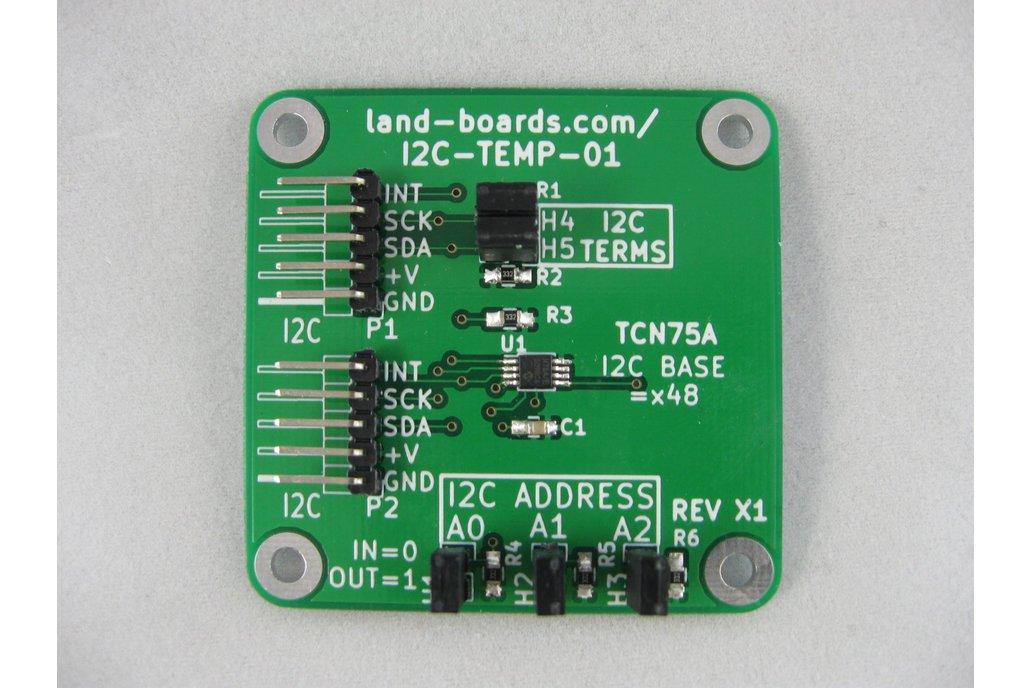 I2C Temperature Sensor (I2C-TEMP-01) 1