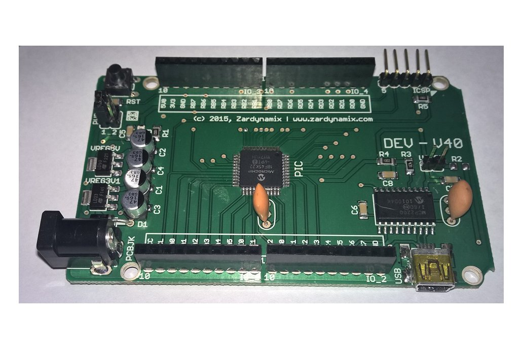 DEVCC - V40 with PIC18F45K22 3