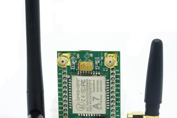 GPRS and GSM module