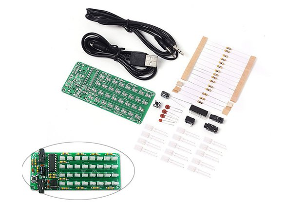 DIY 8x4 Music Level Indicator Module Kit (13282)