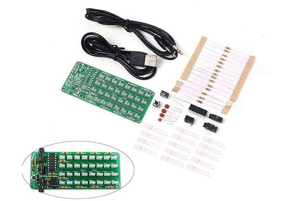 DIY 8x4 Music Level Indicator Module Kit (13282)