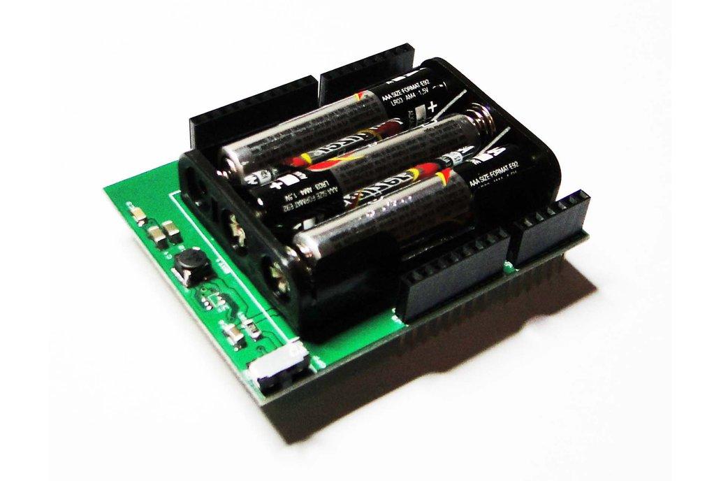 BatteryDuino - Battery shield for Arduino 2