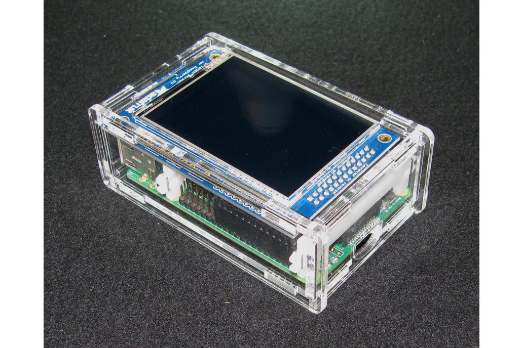 "Raspberry Pi A+/B+ 2.8"" PiTFT Case 1"
