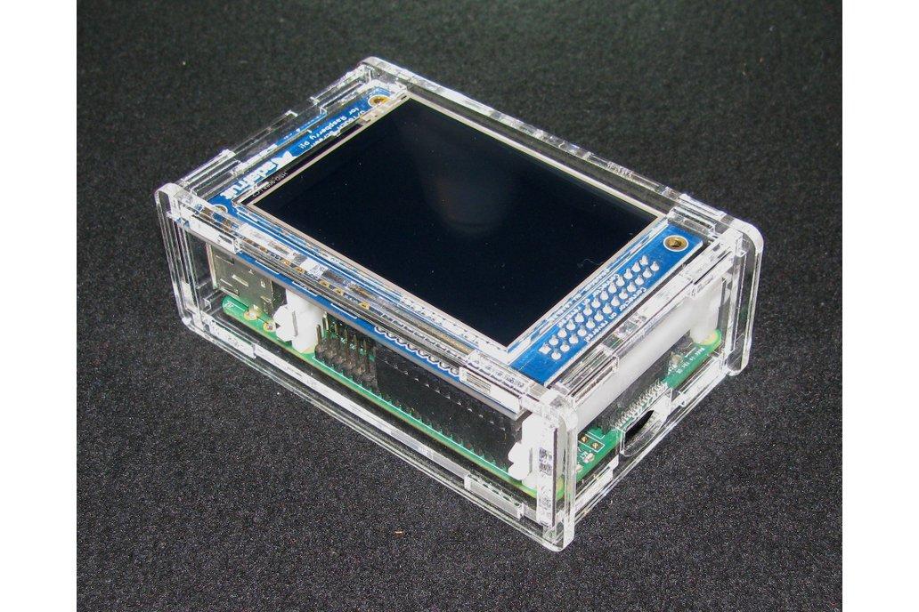"""Raspberry Pi A+/B+ 2.8"""" PiTFT Case 1"""
