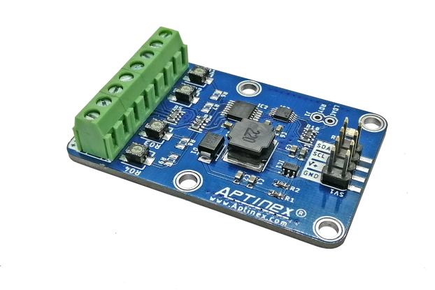 Aptinex 4CH DAC Module DA4C010BI I2C 0-10V MCP4728