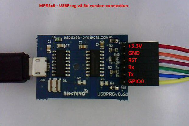 USBPRGv8.4 Isolated USB-Serial Programmer Adapter