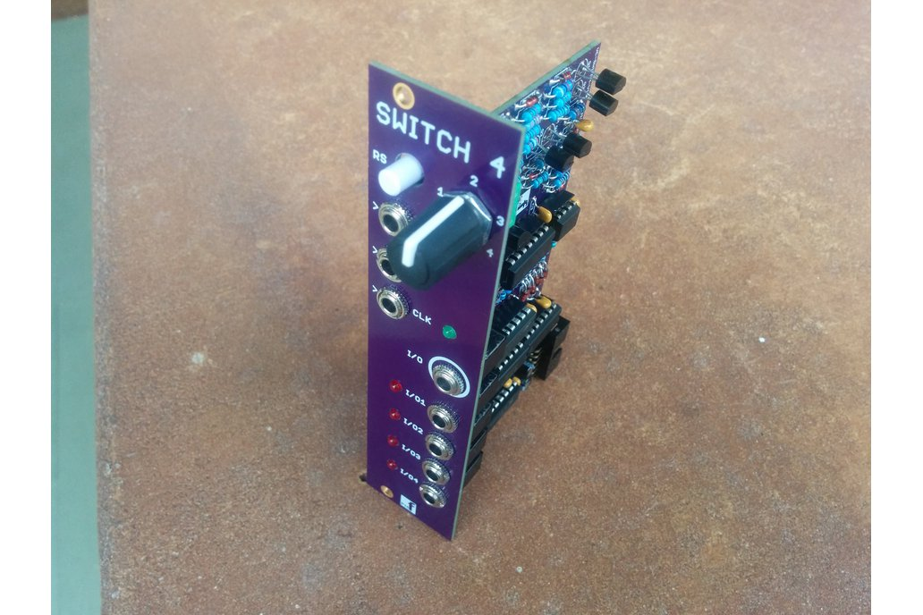 Voltage controlled sequential switch 6