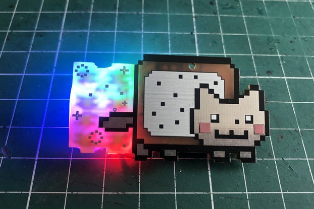 Nyan Cat pin