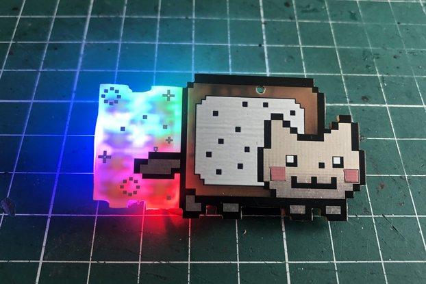 Nyan Cat pin