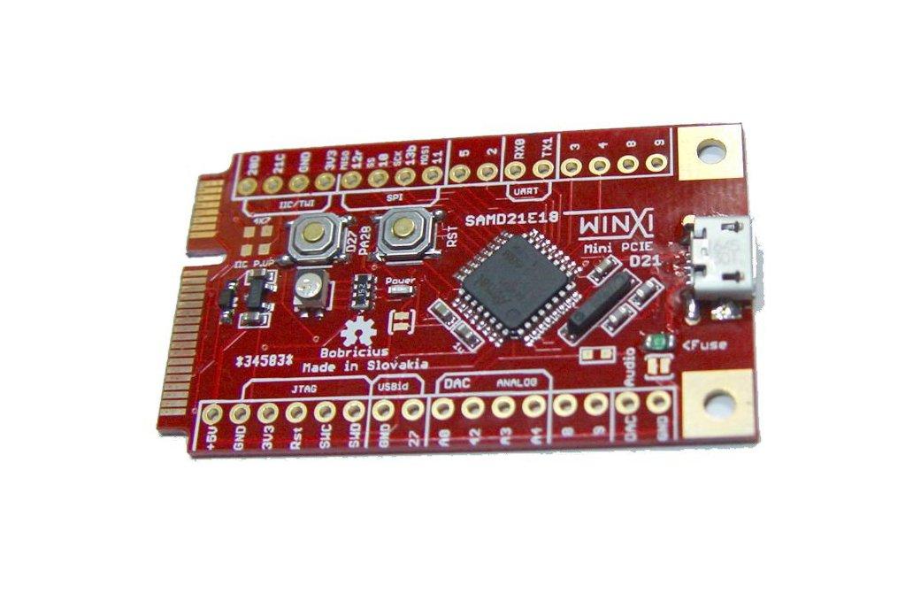 MINI PCIE Micropython Arduino Zero 1