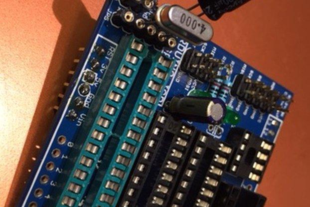 ATtiny ISP Programmer shield for Arduino