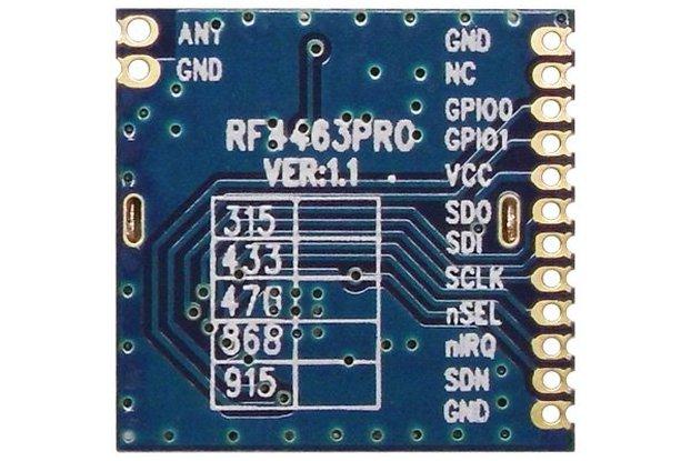 RF4463PRO 20dBm  wireless transceiver module