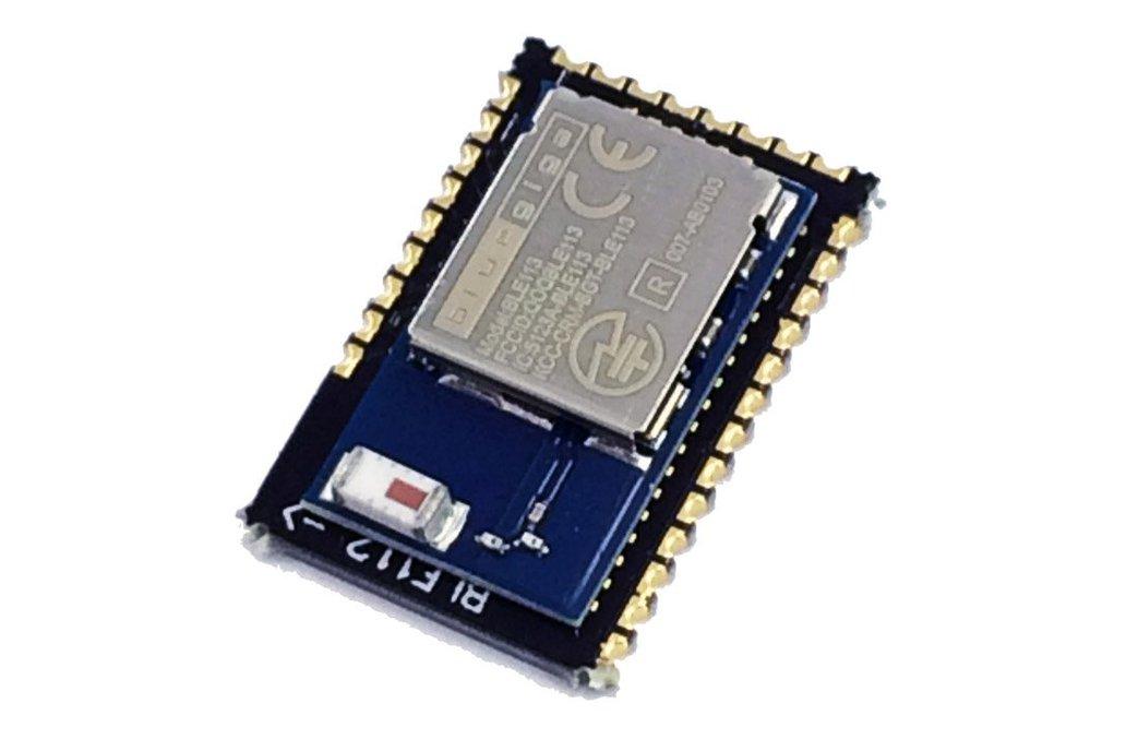 Bluegiga BLE112 to BLE113 footprint adapter 2